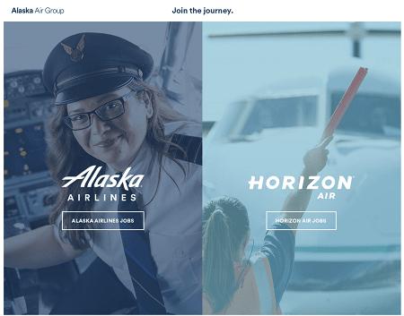 Logo for Alaska Airlines - Horizon Air