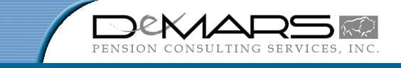Logo for DeMars Pension Consulting Services, Inc.
