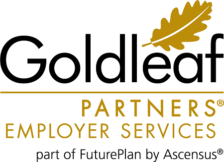 Logo for Goldleaf Partners, part of FuturePlan by Ascensus
